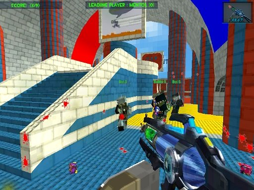 Blocky Gun Paintball 3 Online