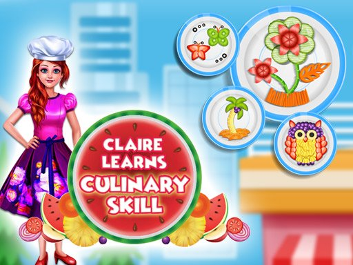 Claire Learns Culinary Skills Online