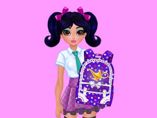 Jasmine and Elsa - School Bag Design Contest