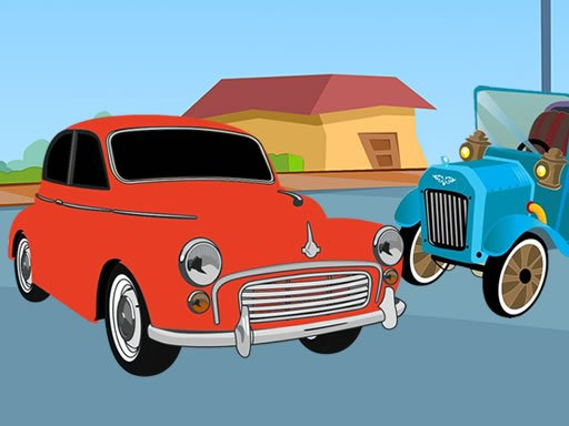 Old Timer Cars Coloring Online