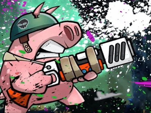 Piggy soldier super adventure Online