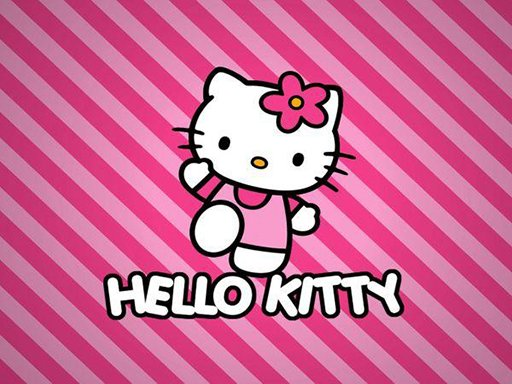 BTS Hello Kitty Coloring Online